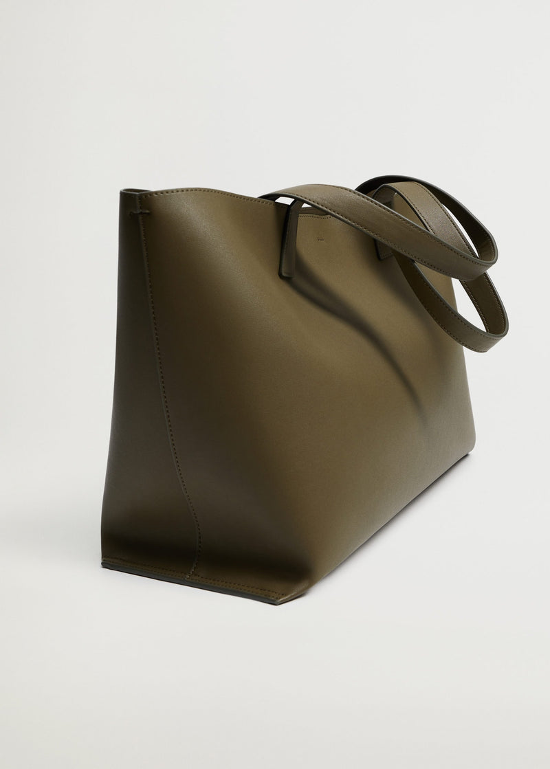 Shopper bag with handles