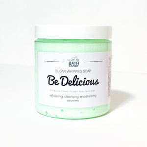 Be Delicious Blossom • Sugar Whipped Soap