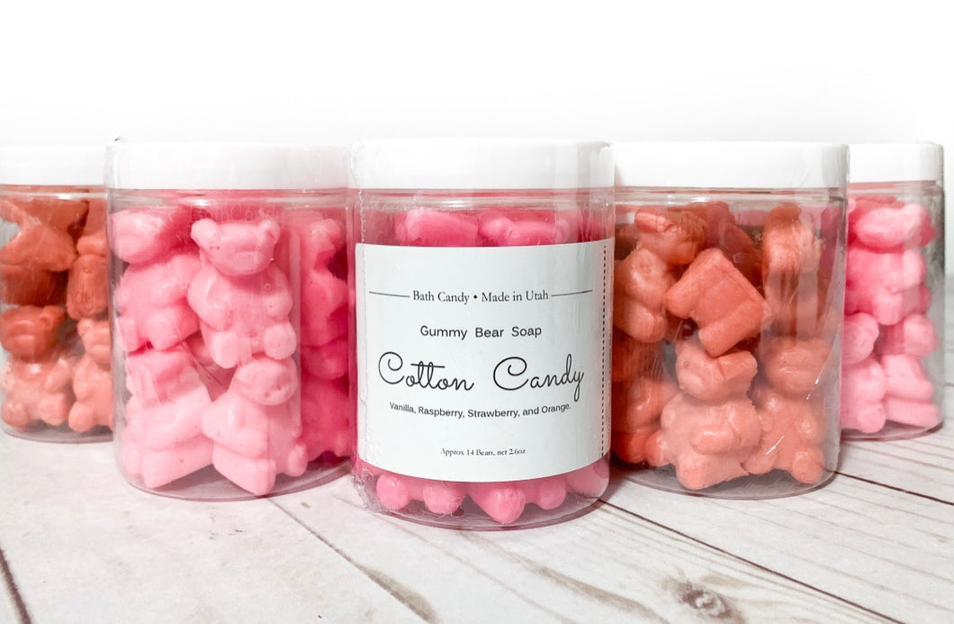Gummy Bear Soap • Cotton Candy
