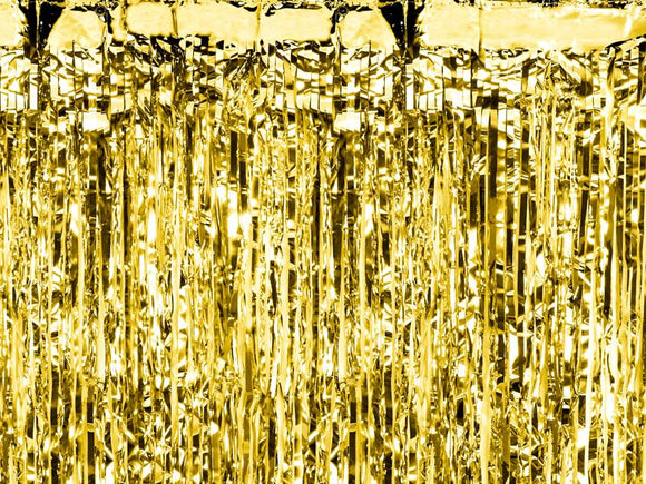 Gold Party Curtain-curtain-Blossom Tree Party