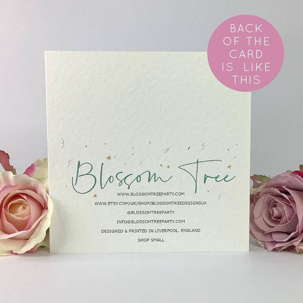 Happy Birthday Brother Luxury Card - Blossom Tree Party