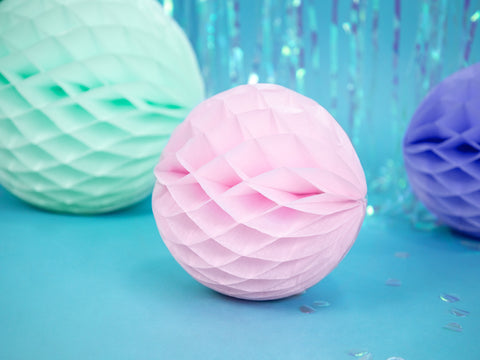 Honeycomb Ball | Light Pink | 20cm-Honeycomb Ball-Blossom Tree Party