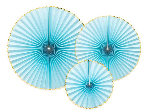 Decorative Rosettes | light blue-Rosettes-Blossom Tree Party