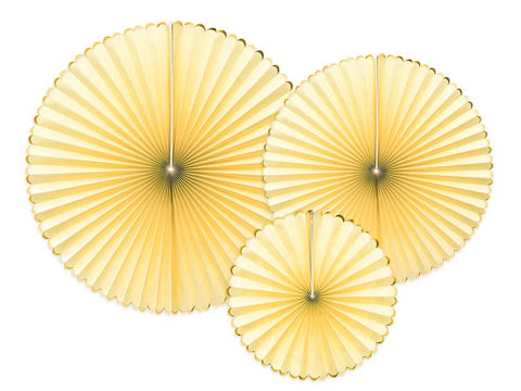 Decorative Rosettes | light yellow-Rosettes-Blossom Tree Party