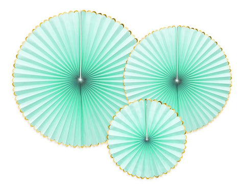 Decorative Rosettes | Mint-Rosettes-Blossom Tree Party