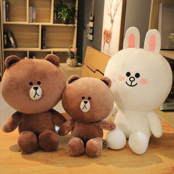Brown & Friends Plushies