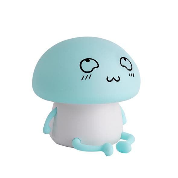 Mushroom Night Light Night Light Blue