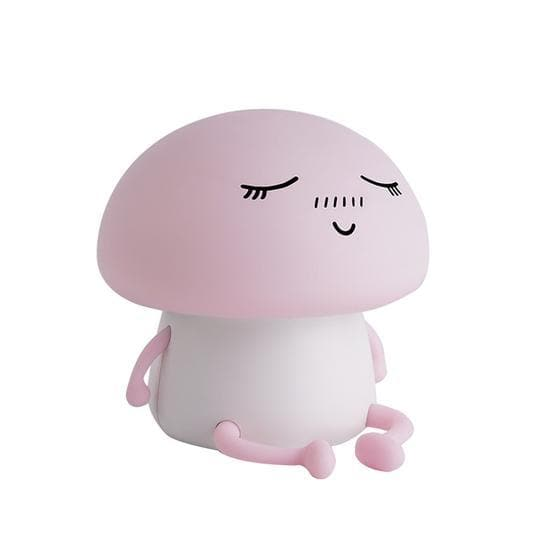 Mushroom Night Light Night Light Pink