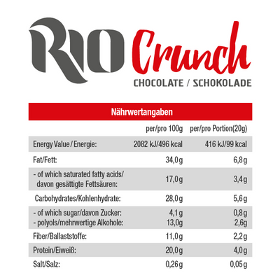 Rio Crunch - Sci Nutrition Shop