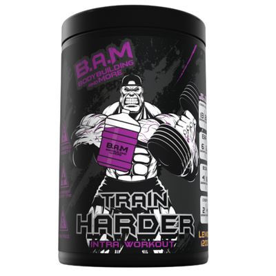 Train Harder - Sci Nutrition Shop