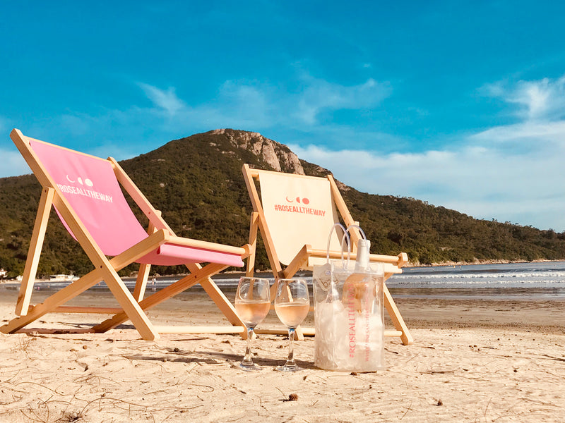 #RoséAllTheWay Lounge Chair