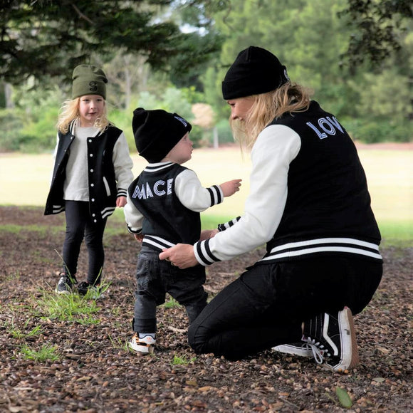 custom embroidery jackets kids baby adult