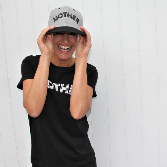 mother mum tee and cap