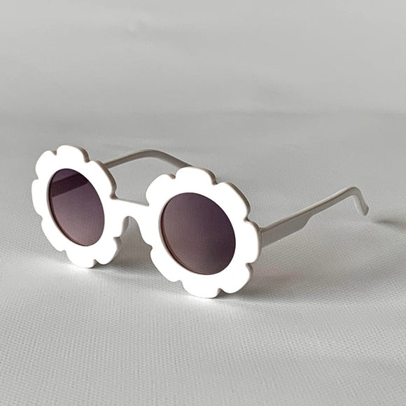 kids sunglasses girls white flower