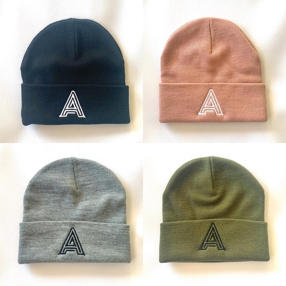 A to Z Letter Beanie
