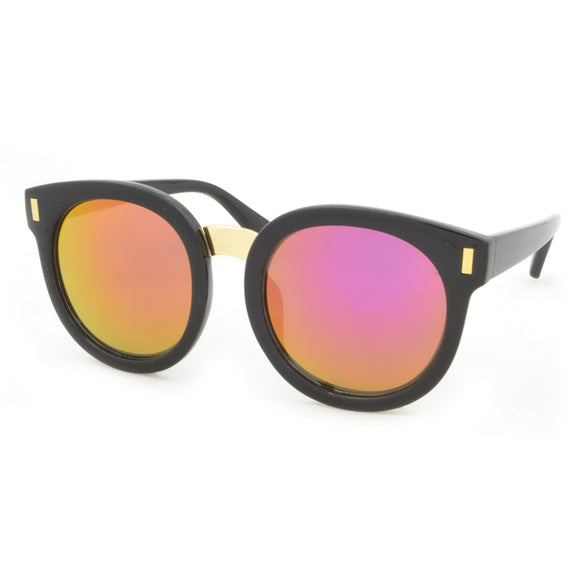 Kids Sunglasses Girls Black Mirror Vamp