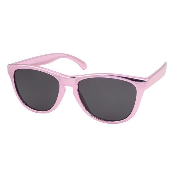 kids sunglasses girls metallic pink