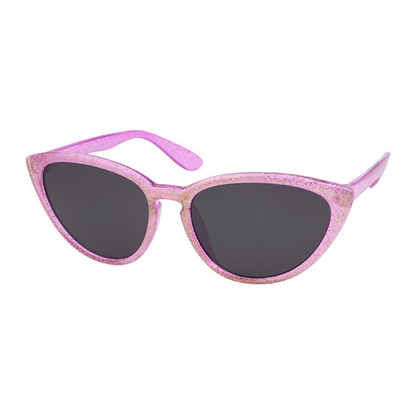 kids sunglasses pink girls cat eye glitter