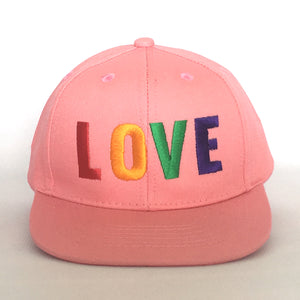 Love cap baby kids adults black