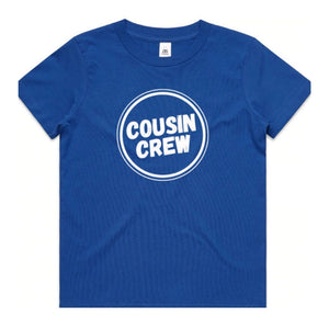 Cousin Tee Blue COUSIN CREW family gift