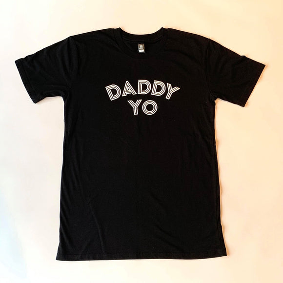 Dad Tee black white