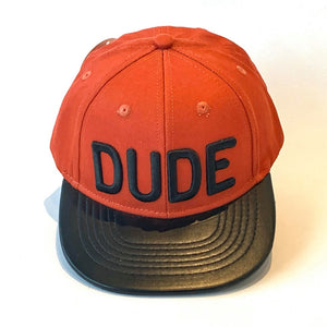 Dude cap in baby kids and adult sizes blue