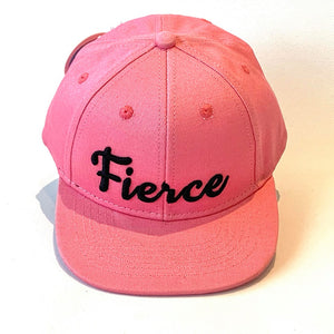 Fierce Cap baby kid adult pink
