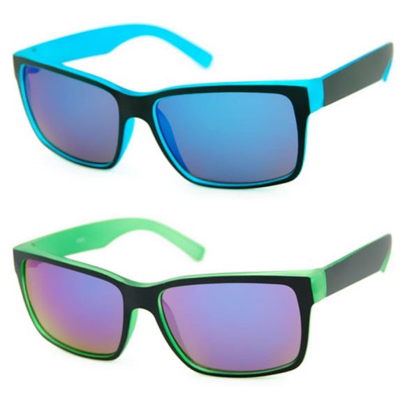 kids sunglasses boys blue and green