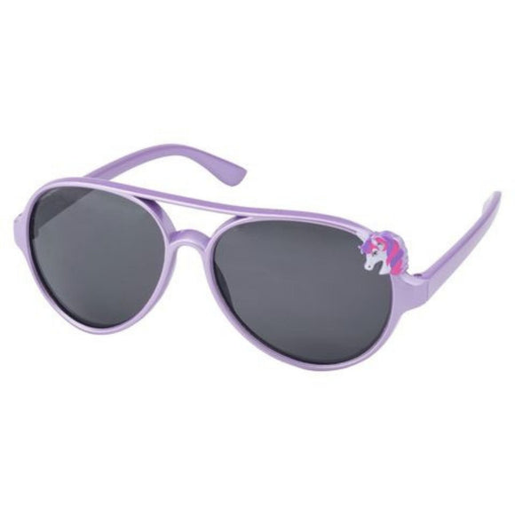 kids sunglasses girls unicorn purple