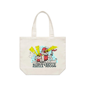Buddy and Biggie MONSTERS Shoulder Tote