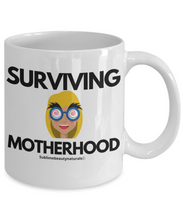 Load image into Gallery viewer, Surviving Mother Funny Coffee Mug.