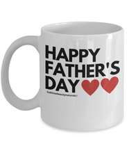Load image into Gallery viewer, Happy Father's Day Mug