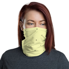 Load image into Gallery viewer, Face Mask Neck Gaiter Refreshing Yellow
