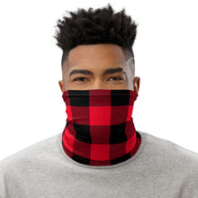 Load image into Gallery viewer, Face Mask Neck Gaiter Red Plaid