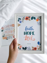 Load image into Gallery viewer, Faith Hope Love - Print