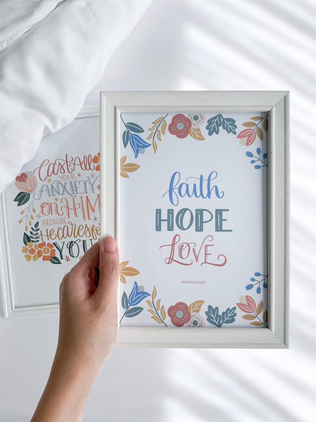 Faith Hope Love - Print