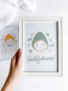 Fruhsies Collection [Faithfulness] - Print