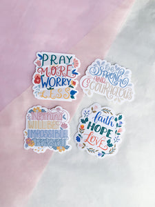 Vinyl Sticker Pack of 4