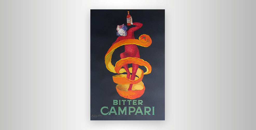 Poster Spotlight: Bitter Campari by Leonetto Cappiello
