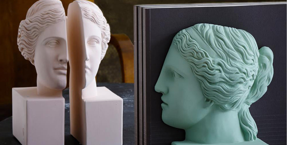 Classic Greek Busts with a Modern Flair