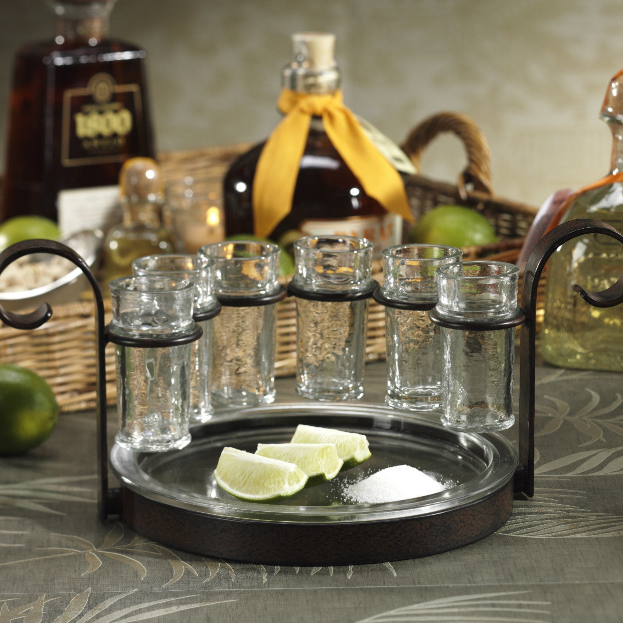 tequila shot glass set