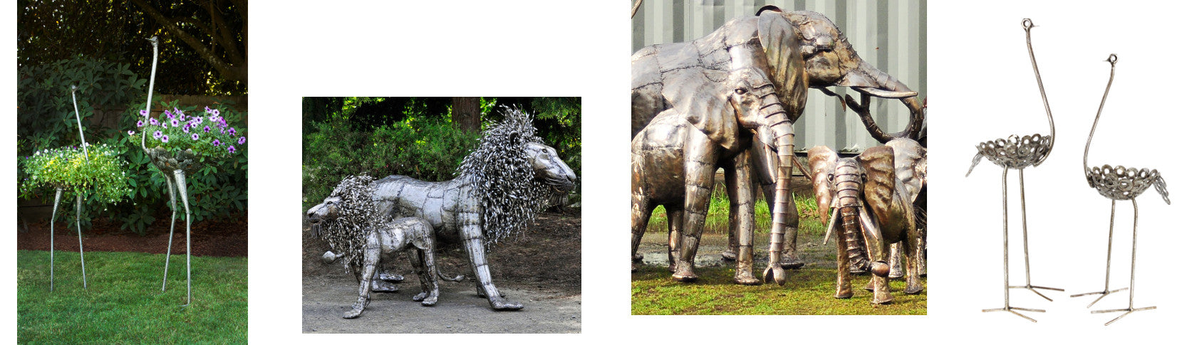 Recycled Metal Art