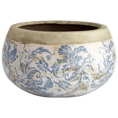 Isela Planter - Medium - Cyan Design
