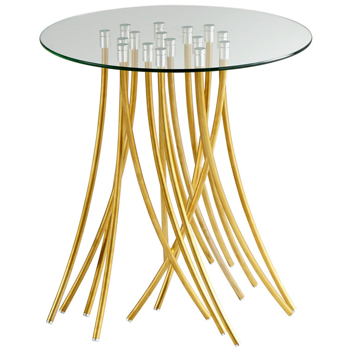 Tuffoli Table | Cyan Design | Brass | Trovati Studio