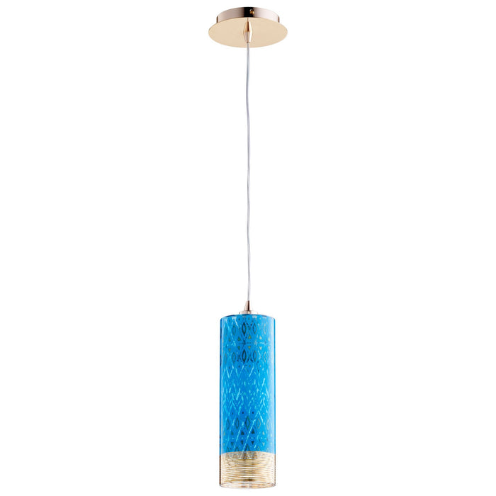 Small Kaska Pendant Blue | Cyan Design