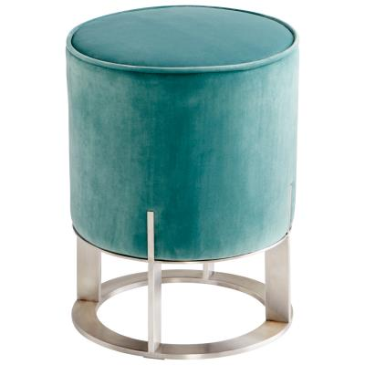 Opal Throne Ottoman - Teal - Cyan Design - Trovati