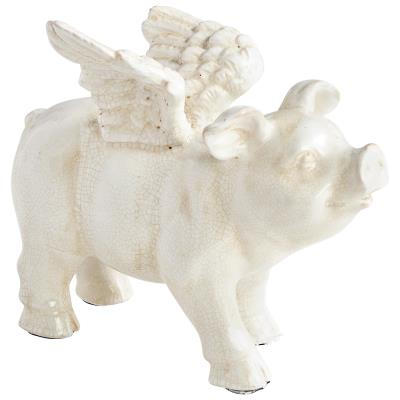 Cyan Design Oink Angel Standing Sculpture - Trovati