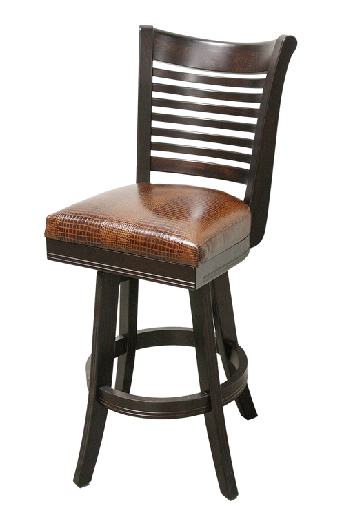Mario Bar Stool | Wood 360 swivel | Trovati Studio