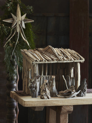 Roost Driftwood Crèche