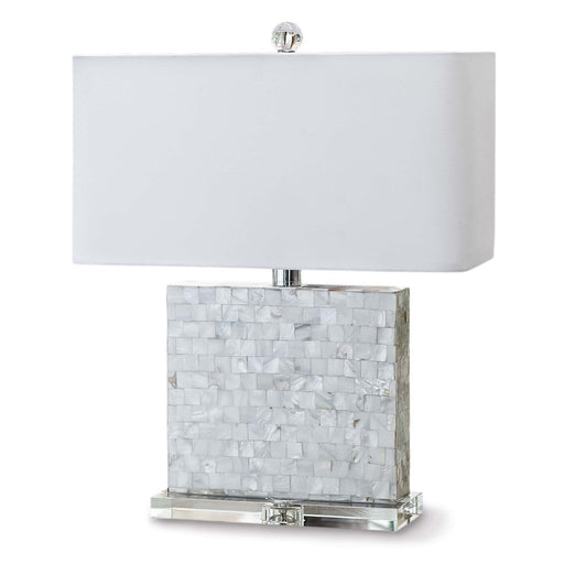 Bliss Mother of Pearl Table Lamp | Regina Andrew | Trovati Studio